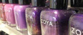 Zoya Nail Polish. 5 things...